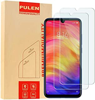 For Xiaomi Redmi Note 7 /7pro, Screen Protector,HD Anti-Fingerprints Scratch Resistance Bubble Free 9H Hardness Tempered G...
