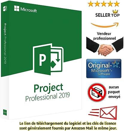 Project 2019 Microsoft Professional Plus - Licence perpétuel - Pas d'abonnement - Licence numérique originale Envoyé dans un jour par courrier électronique depuis Amazon - seulement pour windows 10