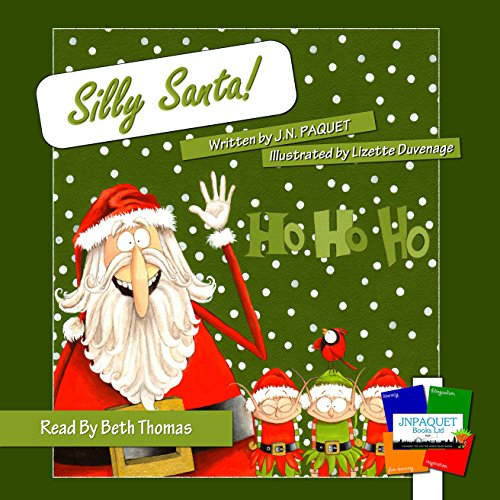 Silly Santa! audiobook cover art