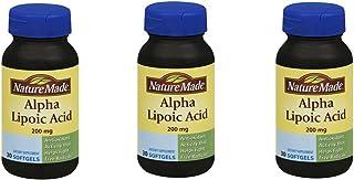Nature Made Alpha Lipoic Acid 200 Mg (Pack of 3)