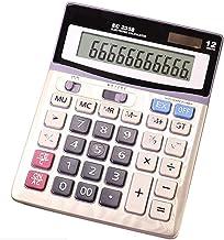 $38 » Calculator Solar Energy Dual Power high tech LCD Display Finance Office Desktop Calculator Accounting only 12 Digits (G)