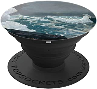 Northeaster Winslow Homer Fine Art Painting Storm Ocean Wave PopSockets Grip and Stand for Phones and Tablets
