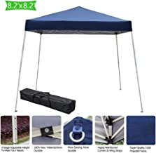 Teekland 8X8ft Pop Up Canopy Tent, Portable Instant Folding Gazebo Home Outdoor Party Tent Shade Sun Shelter with Carry Bag …