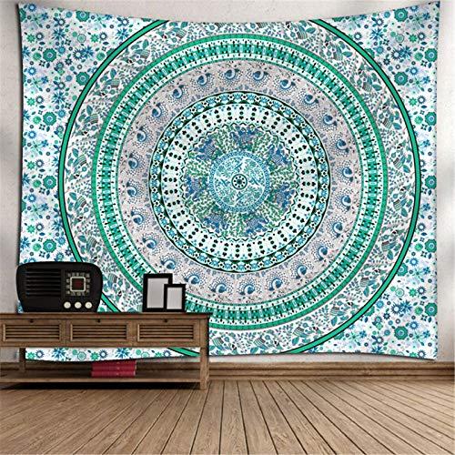 Arazzo con Stampa in Poliestere, Arazzo con Stampa Digitale della Serie Bohémien, Arazzo con Decorazione Domestica Mandala