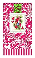 Michel Design Works 15Count用紙Hostessナプキン、Candy Cane