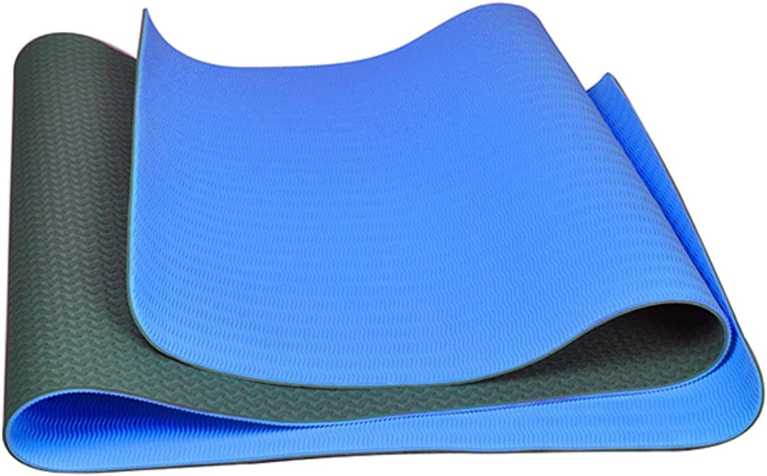 Folding NonSlip Surface Comfortable 6mm Yoga Mat for Beginner with Bag