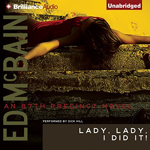 Lady, Lady, I Did It! audiobook cover art