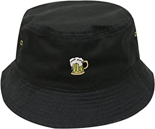 Unisex Small Beer Cotton Summer Bucket Hat - Multi Colors