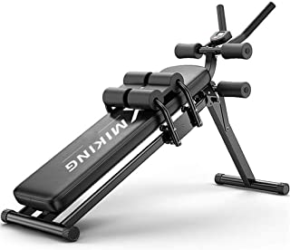 Dumbbell Stool, Adjustable/Foldable Workout Bench 250 Kg, Decline Curved Ab Bench For Home Gym Ab Exercises Roman Chair