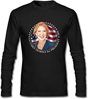 Mens Carly Fiorina For President 2016 Funny Tshirts