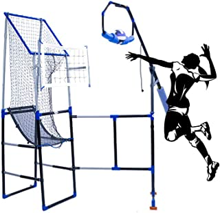 Volleyball Training Equipment Aid-The Perfect Volleyball Spike Trainer and Volleyball Serving Trainer with Adjustable Target Stand for Setting and Passing Practise.