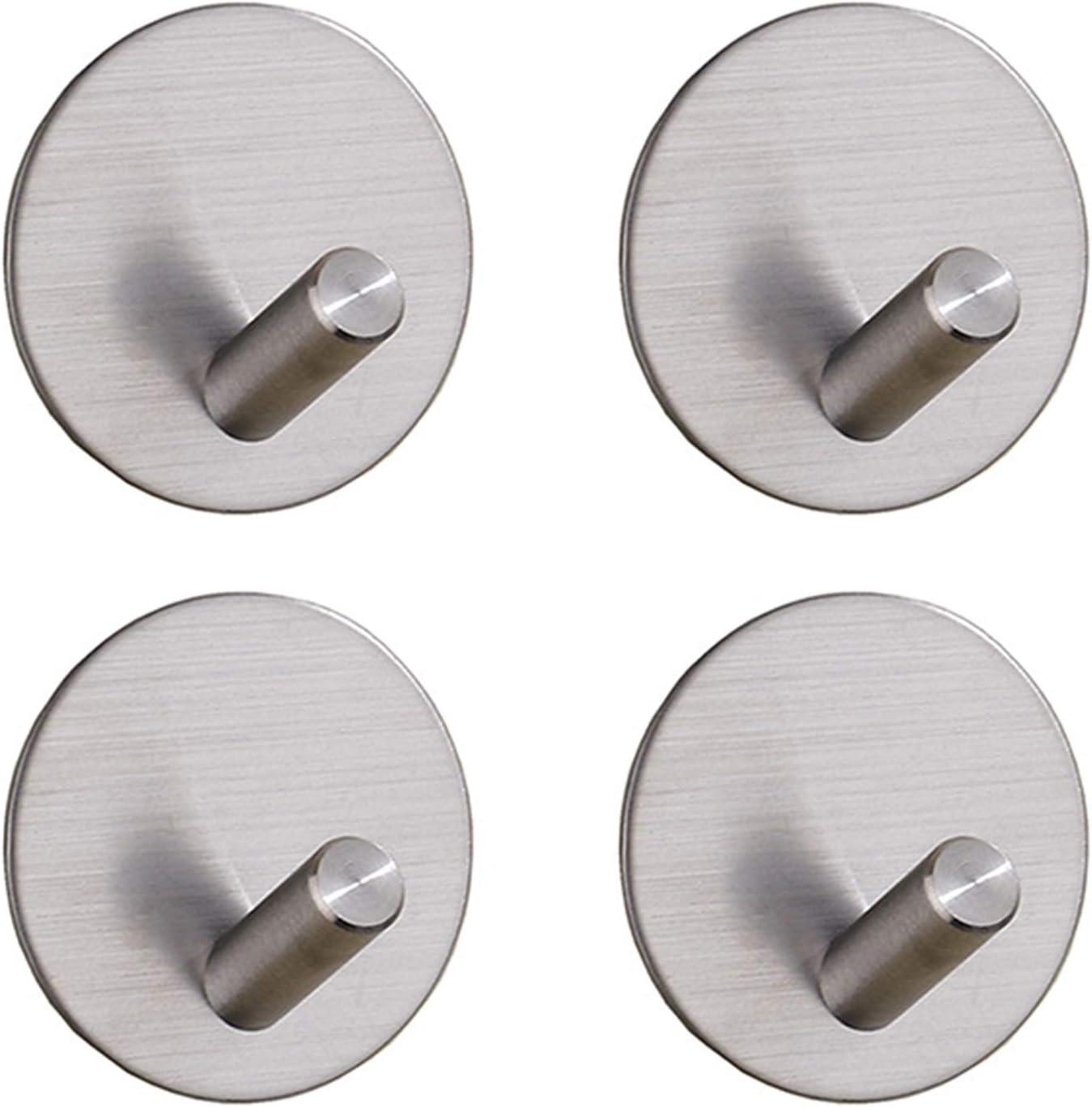 YOR Self-Adhesive Hooks Towel Stainless 55% Special price OFF Holder Steel Hook