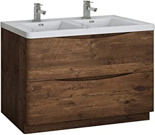 Best rosewood bathroom vanity Reviews