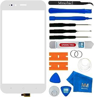 MMOBIEL Kit de reemplazo de Vidrio Frontal de digitalizador de Pantalla táctil Compatible con Xiaomi Mi A1 2017 5.5 Inch (...