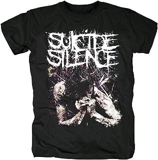 suicide silence スーサイド サイレンス ロック アメリカ 流行 欧米風 音楽 Tシャツ メンズ/レディース 夏服 トップス 半袖 無地 通気性 ファッション ゆったり