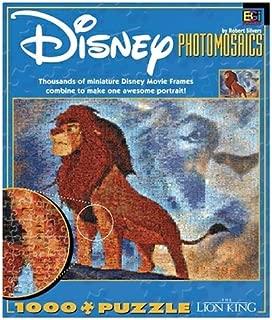 Buffalo Games Disney Photomosaic The Lion King 1000 Piece Jigsaw Puzzle