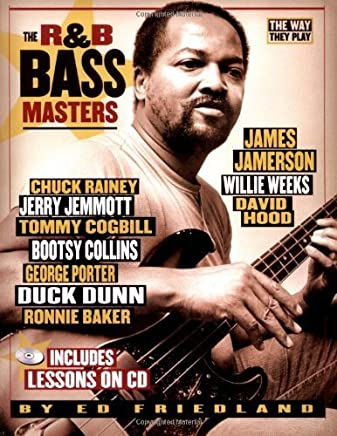 R&B Bass Masters The Way They Play Book/CD and Tab (Softcover) by Ed Friedland(2005-11-01)