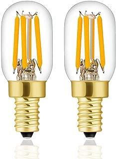 Hizashi E12 Mini LED Light Bulb, High Brightness, 2.5W (25W Equivalent), Warm White 2700K, E12 Candelabra Base,90+ CRI, 250 Lumen Lamps for Home Lighting, Dimmable, 2 Pack, UL Listed