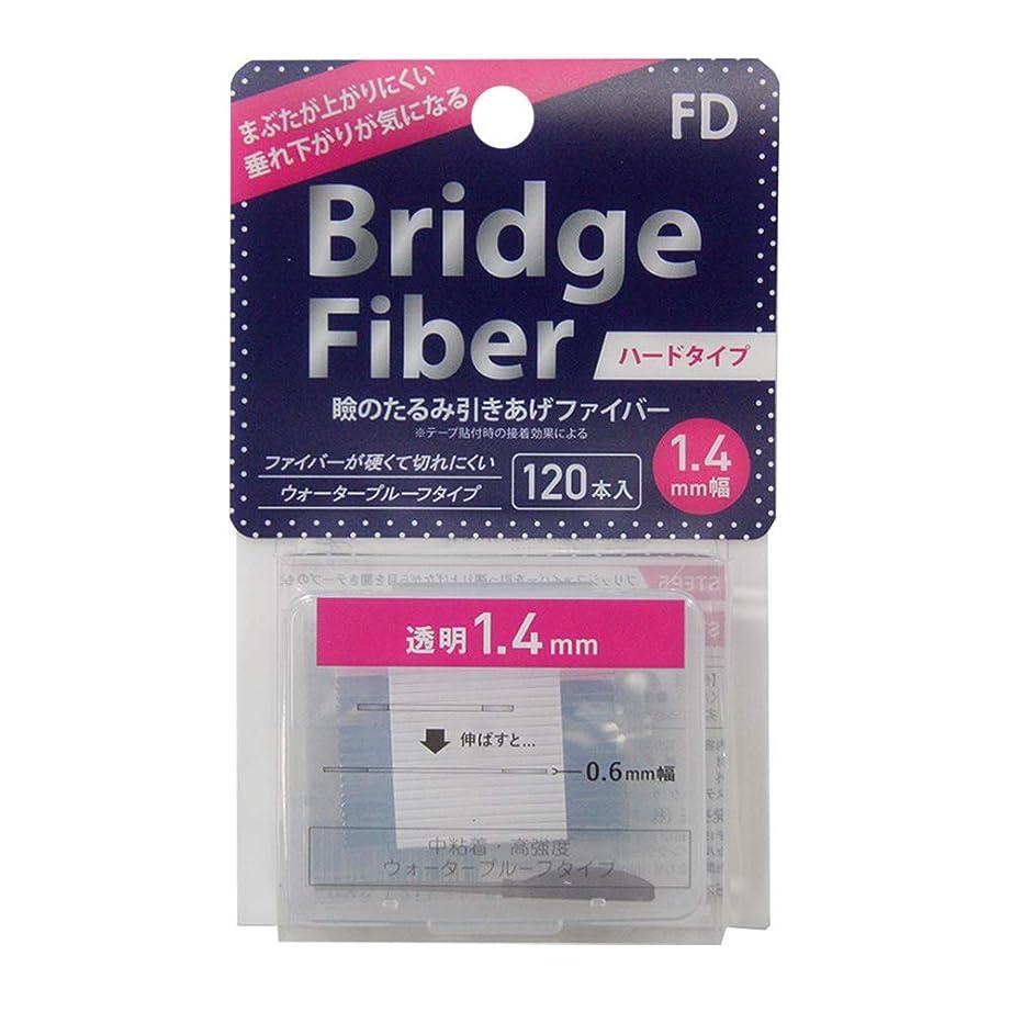 チャペルリア王警戒FD ブリッジハードファイバー 眼瞼下垂防止テープ ハードタイプ 透明1.4mm幅 120本入り