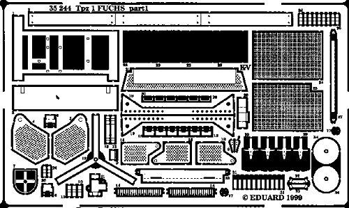 Eduard Accessories 35244 Accessoire de modélisme Tpz-1 Renard pour kit Revell