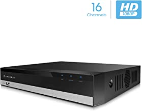 Amcrest ProHD 1080P 16CH Video Security DVR Digital Recorder, 16-Channel 1080P, Supports..