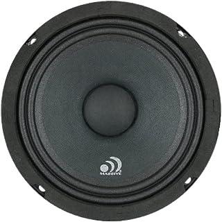 $49 » Massive Audio MB6 MB Series. 6.5 Inch, 350 Watts, 4 Ohm Pro Audio Midrange/Midbass Speaker for Cars, Stage and DJ Applicat...