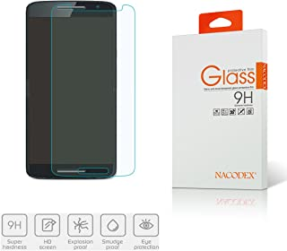 Motorola Moto X Play/Droid MAXX 2 Tempered Glass,Nacodex Premium 0.3mm 2.5D Tempered Glass Screen Protector Film- Retail Package (for Motorola Moto X Play)