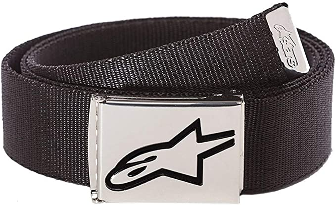 Alpinestars Ageless Web Belt Black Chrome Multi Colour One Size Bekleidung