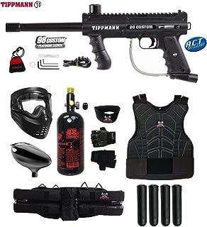 MAddog Tippmann 98 Custom Platinum Series Starter Protective HPA Paintball Gun Package