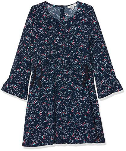 TOM TAILOR Kids Mädchen Kleid, Blau (Dress Blue|Blue 3043), 128 (Herstellergröße: 128/134)