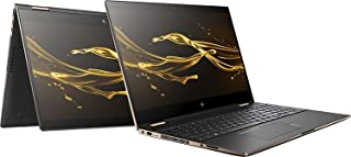 HP Spectre 15 x360 Laptop - Intel Quad Core i7-8705G, 1TB M.2 SSD, 16GB, 15.6 Inch 4k UHD Touch, Radeon RX Vega M 4GB, Win 10, Eng-KB, Black