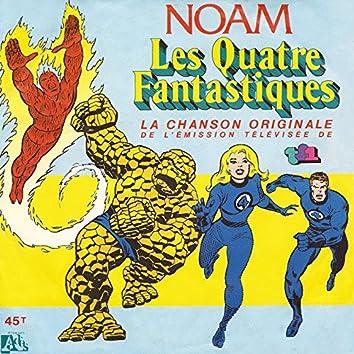 Les quatre fantastiques (Générique original du dessin animé) - Single