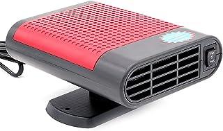 سخان وتنقية الهواء المتنقل 12 فولت 150 واط من نوزاماس، سخان 3 في 1، تشغيل مروحة وتنقية الهواء، مزيل الجليد في السيارة الشت...