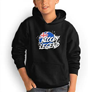 Lazarbeam Teen Hipster Hooded Pocket Sweater Black