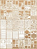 30 Pieces Journal Stencils Plastic Planner...