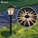 MAGGIFT: Outdoor Solar Pathway Lights for Lawn, Patio, Yard, Walkway, Garden