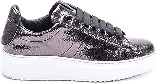 D'ACQUASPARTA Luxury Fashion Womens COURTHIGHTWFERRO Silver Sneakers | Fall Winter 19
