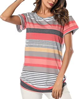 28853b91f Amazon.es: Naranja - Camisetas, tops y blusas / Mujer: Ropa