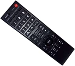 Replaced Remote Control Compatible for Toshiba 32DT2U CT-90325 75014374 50L2400 32C10U 32C110 LED HDTV TV