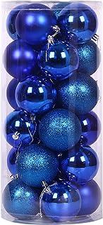 Christmas Ball Small, Christmas Decorations, Christmas Baubles Decorations, Plastic Ball Shatterproof Christmas Tree Decor...