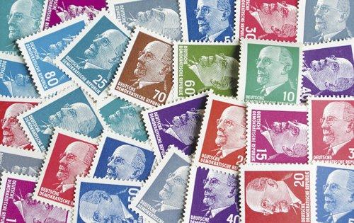 Goldhahn DDR Ulbricht Spezial 29 Werte postfrisch ** Briefmarken für Sammler