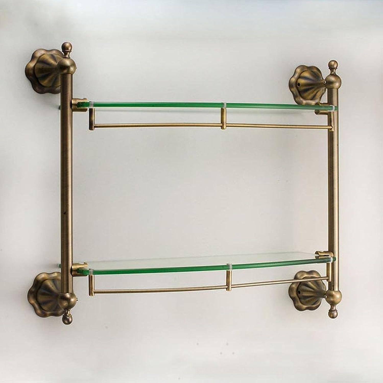 XAH@ -Copper glass Dresser bathroom rack