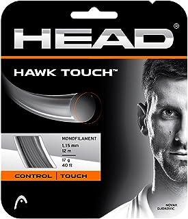 ヘッド(HEAD) テニスガット ホーク タッチ(HAWK TOUCH)ブラック 1.15 単張りガット 281204 0 0