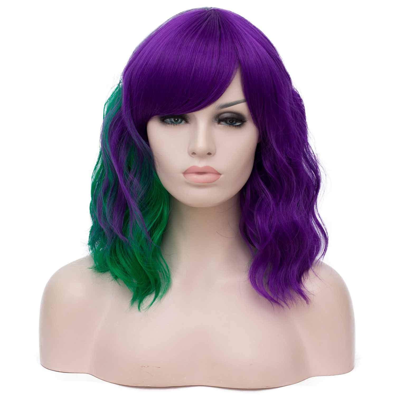 Mildiso Purple Synthetic Pastel Cosplay