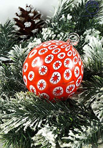Palla di Natale in Vetro soffiato di Murano