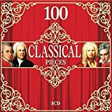 5 CD 100 Classical Music Pieces, Baroque, Classical, Romantic, Piano and Strings Music, Mozart, Chopin, Bach…