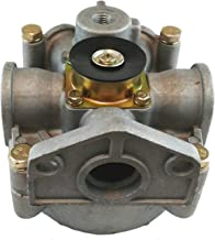 R-8 Relay Spring and Service Brake Valve - 90 Degrees Service Port for Heavy Duty Big Rigs