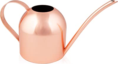 Homarden 30oz Metal Indoor Outdoor Plant Watering Can for House Plants (Copper Color)