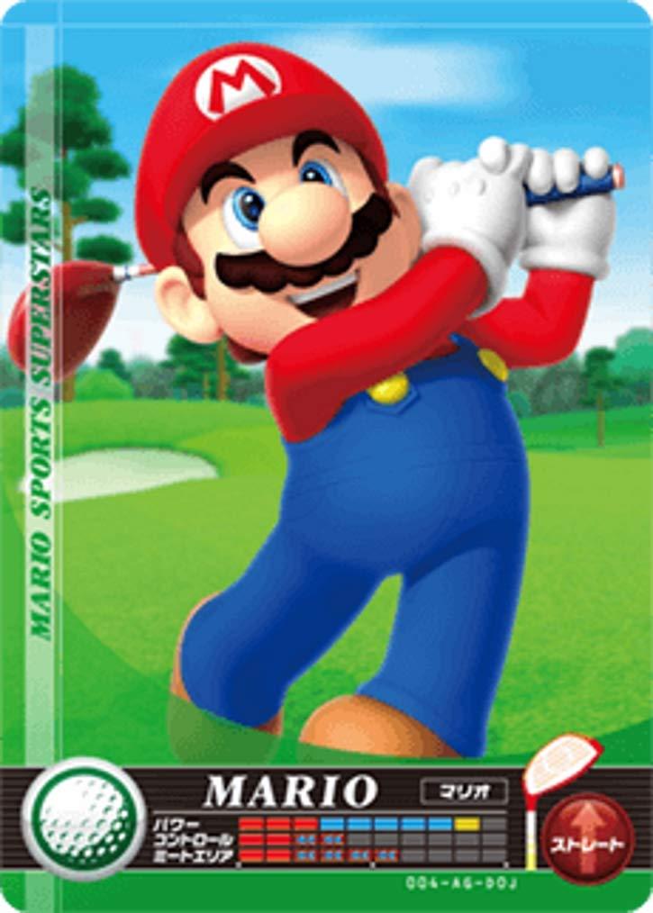 Nintendo Ranking TOP15 Mario Cash special price Sports Superstars Amiibo Golf Nint for Card