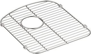 KOHLER 5180-ST Smart Divide Stainless Steel Sink rack, 13-1/2 x 15-1/4-Inch